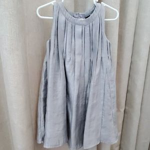 Baby Gap Silver Swing Dress